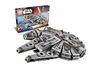 Star Wars Millennium Falcon Lego like ship complete. Brand New