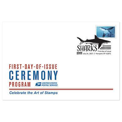 USPS New Sharks Ceremony Program