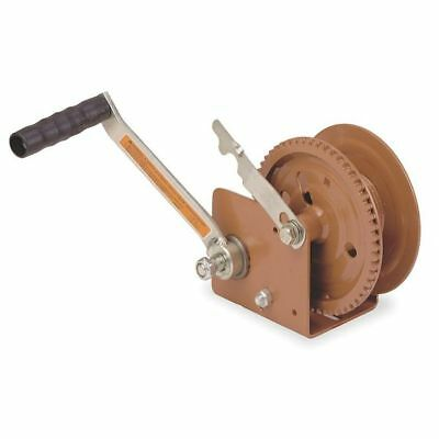 DUTTON-LAINSON DLB1205A Hand Winch, Spur Gear, Brake, 1200 lb.