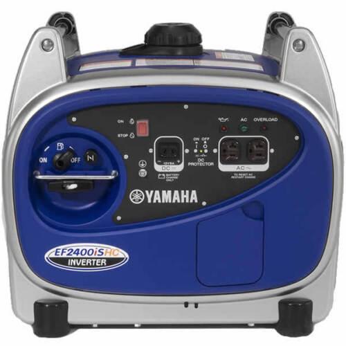 Yamaha ef2400ishc 2000 watt inverter generator for Yamaha 2000 generator run time
