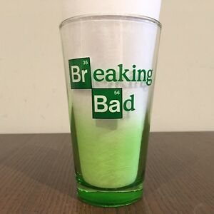 Just Funky Breaking Bag 16oz Drinking Glasses - Set of 4