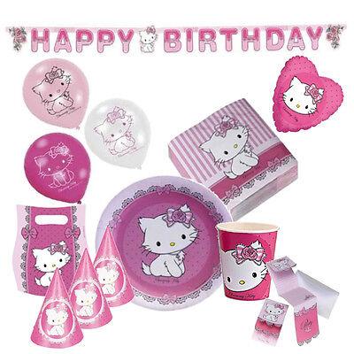 Charmmy Kitty Hello Kitty  Kinder Geburtstag Party - Deko Geburtstag-Set ()