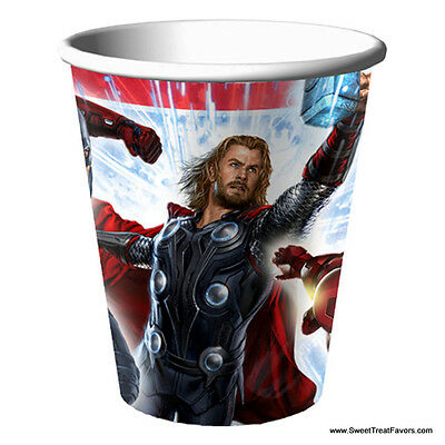AVENGERS HULK Party CUPS x8 Supplies Birthday MARVEL Decoration Heroes Iron Man](Hulk Party Supplies)