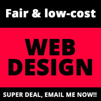 Clean Mobile Responsive Website Design for Just $147