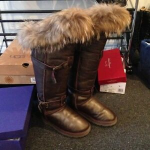 Chic Winter Fur Boots luxury London Ontario image 1