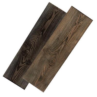 Fliesen Feinsteinzeug Bodenfliesen Muster Pantal 15x50 Holz-Optik Relieffliese ()