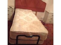 Craftmatic single bed massages and lifts your legs and back up and down
