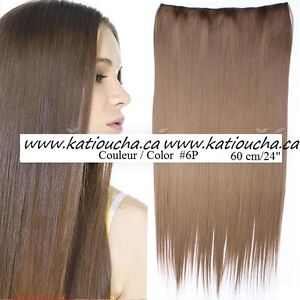 """Clip in hair extension,Straight hair,24"""",60 cm, FUSCHIA OMBRE Yellowknife Northwest Territories image 9"""