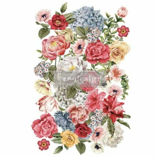 Re-Design with Prima WONDROUS FLORAL II Transfer Home Decor - NEW