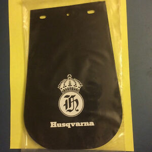 NOS Old School Husqvarna Fender Mud Flap