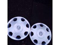 Corsa wheel trims pair