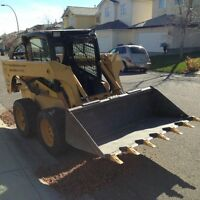 BOBCAT & DUMPTRUCK SERVICES~Flat rates & No dump fee's