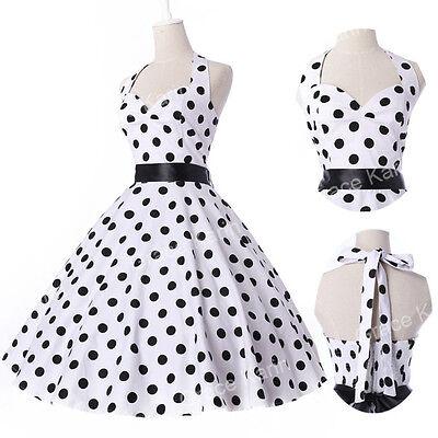 Платья в горошек ретро стиль
