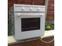 Indesit electric oven white