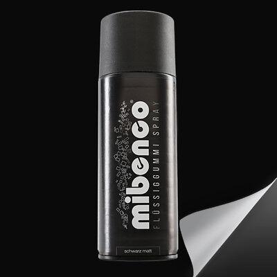 Mibenco Flüssiggummi schwarz matt 400 ml Sprühfolie wieder abziehbar