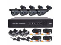 4*HD cameras system with Installation