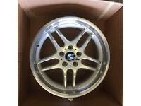 Only got one . BMW 5 or 7 series 9x18 alloy wheel for sale £160 call 07860431401