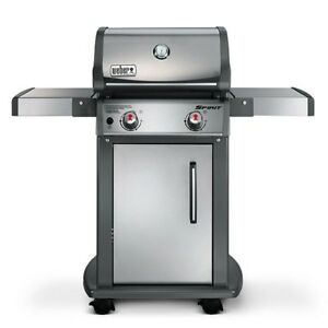 Weber Spirit S-210 2 burner stainless steel natural gas bbq