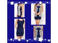 Tenki women's blue dress size 12