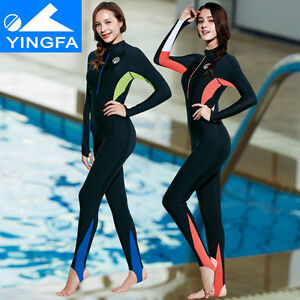 Y1708 Full body swimsuit for women surfing swimsuit sun protect