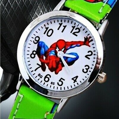 Spiderman Watch Children's Kids Cartoon Watch FREE SHIPPING ! ! !