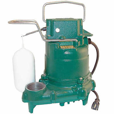 Zoeller M57 - 13 Hp All Cast Iron Submersible Sump Pump W Vertical Float Sw...