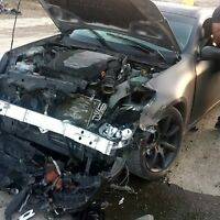2003 Infiniti G35 Coupe (Front end Damage)