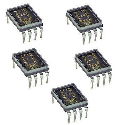 Hp Hdsp-0883 4x7 Dot Matrix Over Range -1 Dip-8 Yellow Led Display New Qty-1