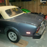 81 FIAT SPIDER CONVERTIBLE - REDUCED