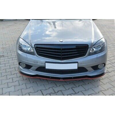 Mercedes W204 Lippe Frontansatz Diffusor Frontspoiler Amg Line Paket C Klasse T