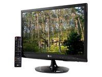 LG M2280D 21.5 inch FullHD LCD TV - Boxed