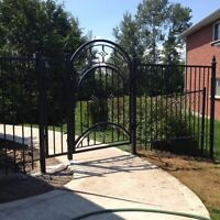 Wrought iron custom made