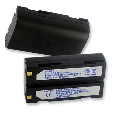 2 Pack 2600mah Battery For Trimble Mt1000 R7 R8 Telxon Tsc1 Data Collector Gps