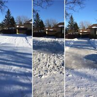 Professional Snow Clearing - One Time, Monthly or Seasonal