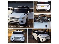 Range Rover Style HSE, 12v, Parental Remote Control Opening Doors