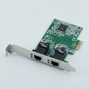 PCI-E-Express-10-100-1000M-Dual-2-Port-RJ45-Gigabit-Ethernet-LAN-Net-Card-BLS
