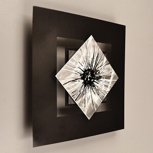Modern Abstract Metal Wall Sculpture Art Painting Home