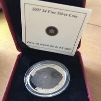 2007 Dinosaur fossil coin