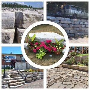 FREE Delivery! Armour (Armor) STONE_Landscape ROCK QUARRY! London Ontario image 4