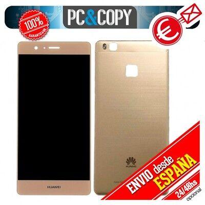 Pantalla LCD + Tapa bateria original Huawei P9 Lite ORO VNS-L21 L22...