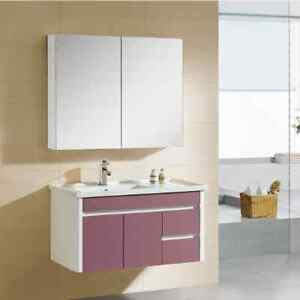 Vanity 900x460mm Wall Hung Ceramic Top Vanity soft close Bathroom Empire Bay Gosford Area Preview