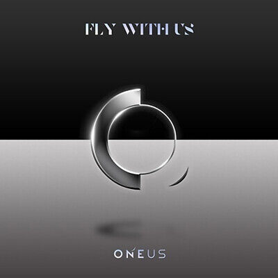 ONEUS [FLY WITH US] 3rd Mini Album CD+Photo Book+Lyrics+3p Card+Book Mark SEALED