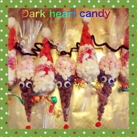 Christmas sweet cones