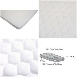 American Baby Company Waterproof Fitted Quilted Mattress Cover