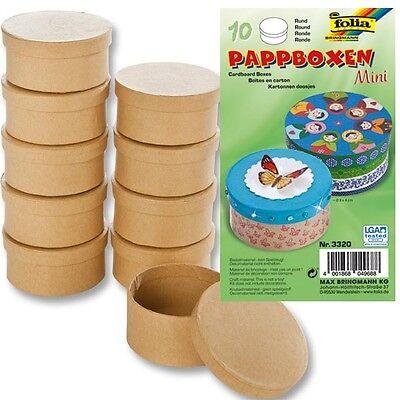 Kinder-Bastelset für zylinderfförmige Mini-Geschenkboxen für Geschenksschatulle (Boxen Set Für Kinder)