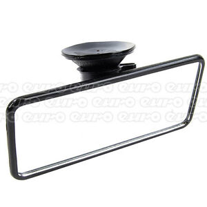 Summit-RV30-Flat-Interior-Mirror-Rear-View-Suction-Cup-Fit-Driving-Glass
