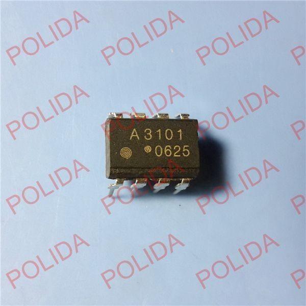 10PCS OPTOCOUPLER AVAGO/AGILENT DIP-8 HCPL-3101-000E HCPL-3101 A3101