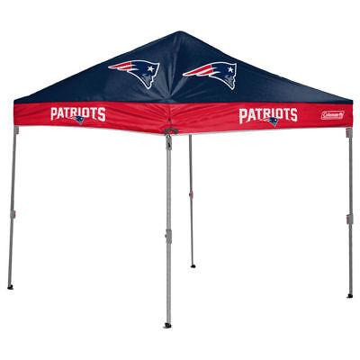 New NE Patriots Coleman slant leg tailgating canopy tent 10' x 10' feet gazebo ()