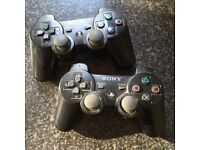 2 x PS3 Controllers