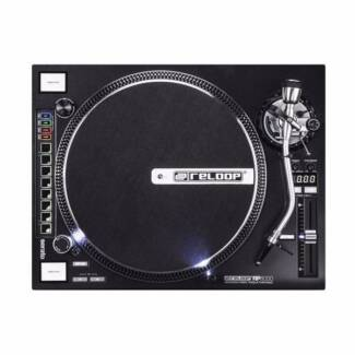 RELOOP RP-8000 MIDI TURNTABLE &Ortofon Gold Stylus & Cartridge